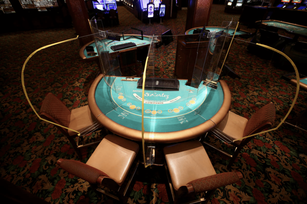 protective casino barriers